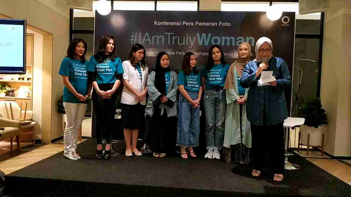 KICKS dan Diera Bachir bersama Plaza Indonesia Peringati International Women's Day Gelar Pameran Foto #IAmTrulyWoman